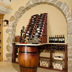 Custom boutique wine cellar manufacturer,high-end wooden wine cellar