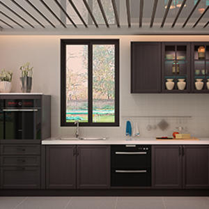 4002 Florence Oak Kitchen Cabinet