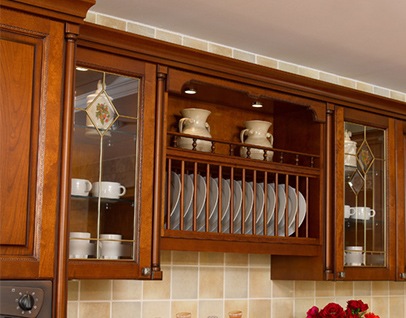 SW-600 Milan town home kitchen cupboard