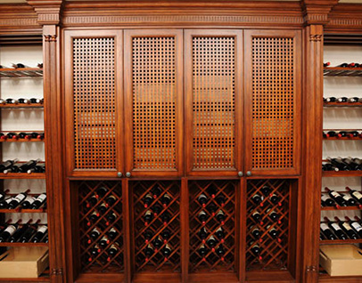 Vannice Series wine storage cabinet