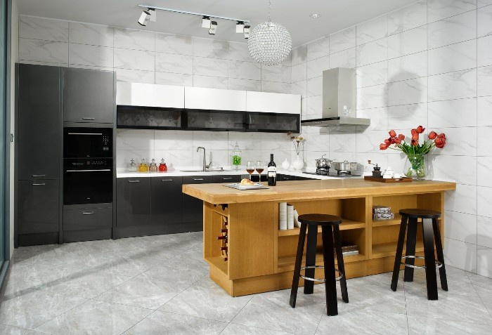 HB-4101 Nobel kitchen cabinet set