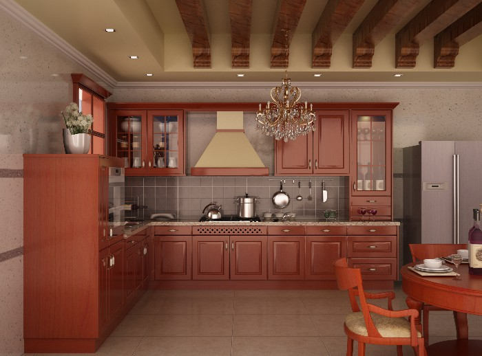 OFB-700 Athena wooden kitchen cabinet