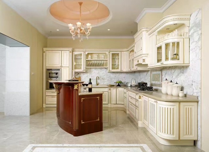OD-900 Provence solid wood cabinets