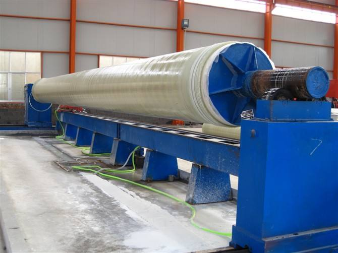 FRP winding pipe