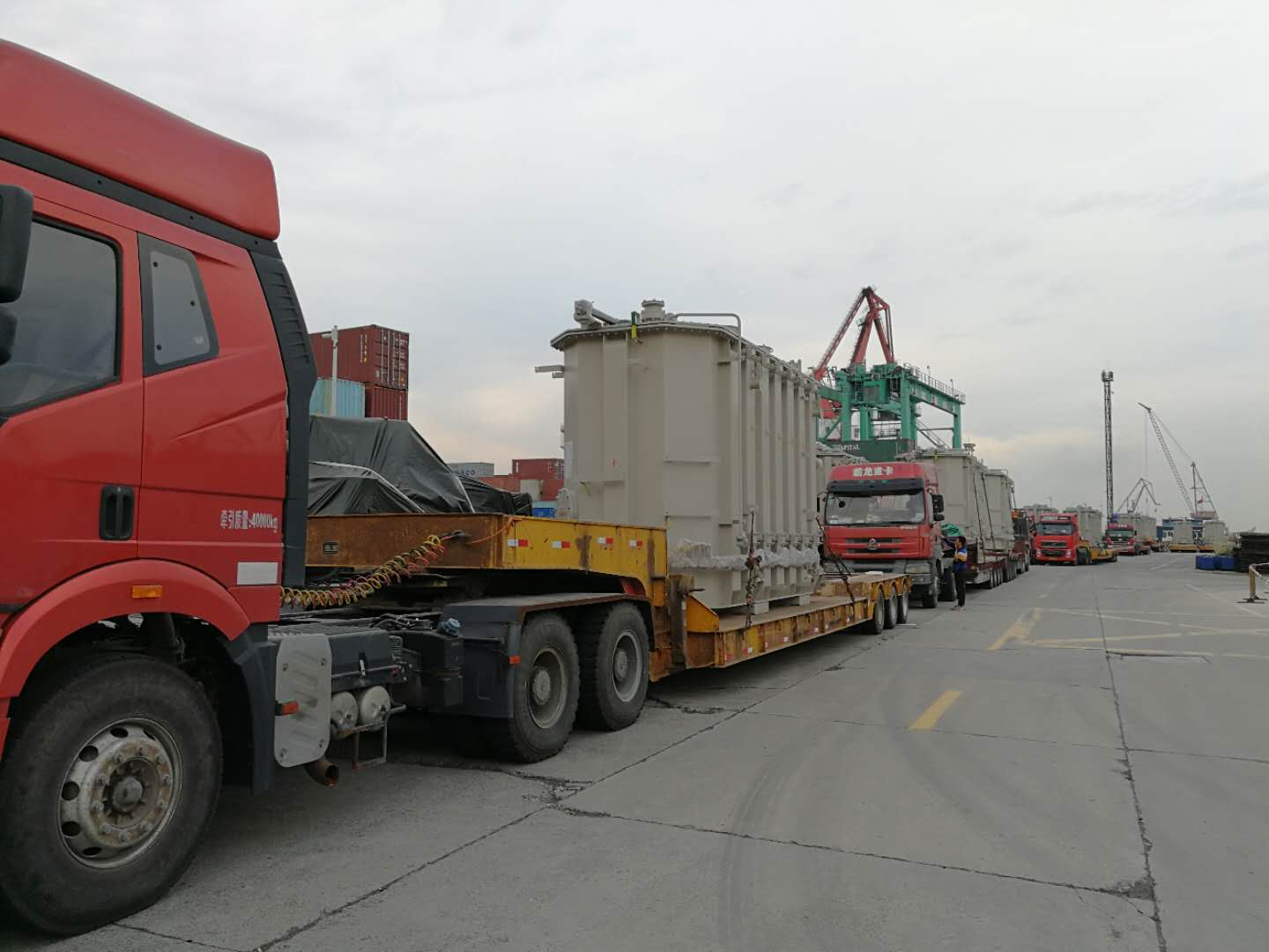 Heavy, out of gauge cargo from China