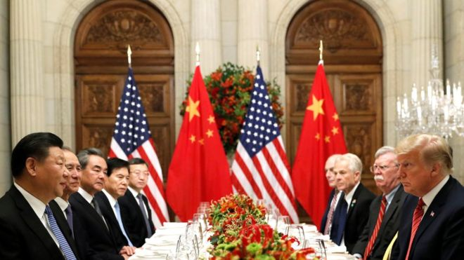 US-China trade war - latest news: US China declare trade war ceasefire