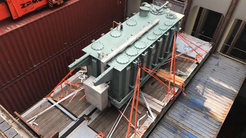 OOG Cargo from China, Transformer delivered to Poti Georgia from Shanghai China