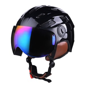 Ski Helmets with Visor SP-S988V Helmet Factory Development