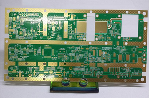 fabrication 10L 3OZ 3-3mil Rogers 4350 HDI printed circuit board pcb factory