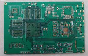 eagle manufacturer 10L 3um immersion gold rigid board 3-3mil  pcb factory