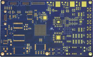 electronics 6L HDI immersion gold buried blind VIA pcb pcb manufacturer