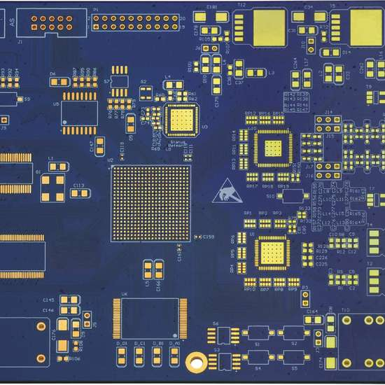 6L HDI immersion gold buried blind VIA pcb