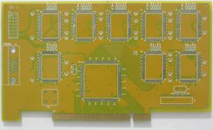 solutions 4L yellow HASL gold-finger circuit board wholesaler