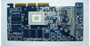 10L Blue HASL Planting Gold-finger PCB Board