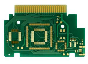10L Thickness 1.6mm Gold Thickness 40um Gold-finger Printde Circuit Board