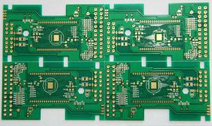 fab double-side thickness1.2mm min-hole 0.1mm immersion gold circuit board