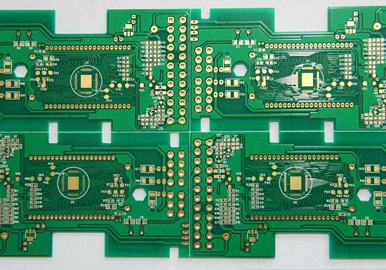 double-side thickness1.2mm min-hole 0.1mm immersion gold circuit board