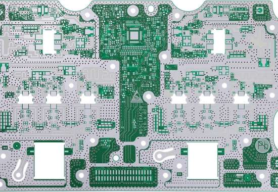 2L high TG thickness1.2mm immersion silver circuitboard