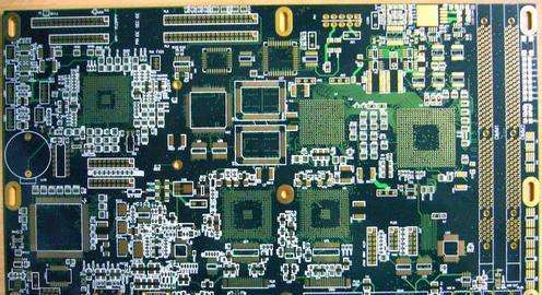 10L Industrial control impedance PCB