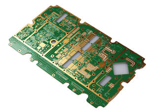 fab 8L thickness1.5mm HDI rogers-FR4 hybrid immersion gold circuitboard seller