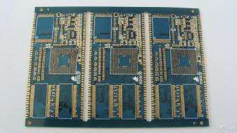 4L BGA 3.5-3mil immersion gold Unbalance copper board