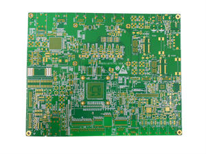 electronics 4L 2step High frequency immersion gold board pcb factory