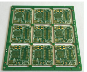 8L 1step HDI Plated Half Hole PCB