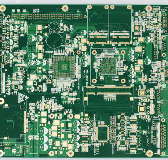 6L 3.8-4.4mil 1-3um immersion gold printed circuit board