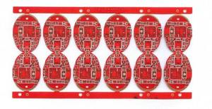 eagle manufacturer rogers6002 6L red 5-5mil RF circuit board supply