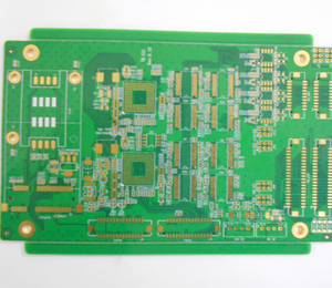 6L CEM-1 1oz green min-hole 0.25mm immersion gold PCB board