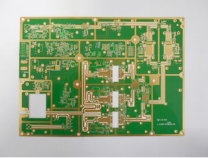 10L Teflon 3oz 3.5-4.7mil Immersion Gold Printed Circuit Board