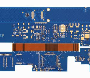 6L R-FPCB Thickness1.6mm blue-immersion gold