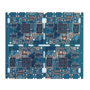 High precision 6L blue Metal core board pcb manufacturer