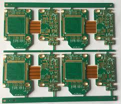 rigid-flex PCB rigid thickness 1.2mm-flex thickness