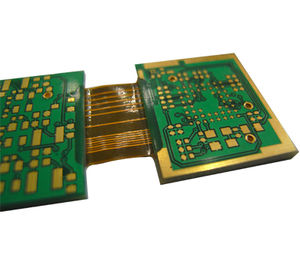 16L immersion gold rigid-flex PCB thickness1.6mm 3oz min-hole0.2mm