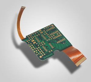 4L rigid-flex board rigid-Thickness0.6mm-flex-thickness 0.1mm immersion gold 2um