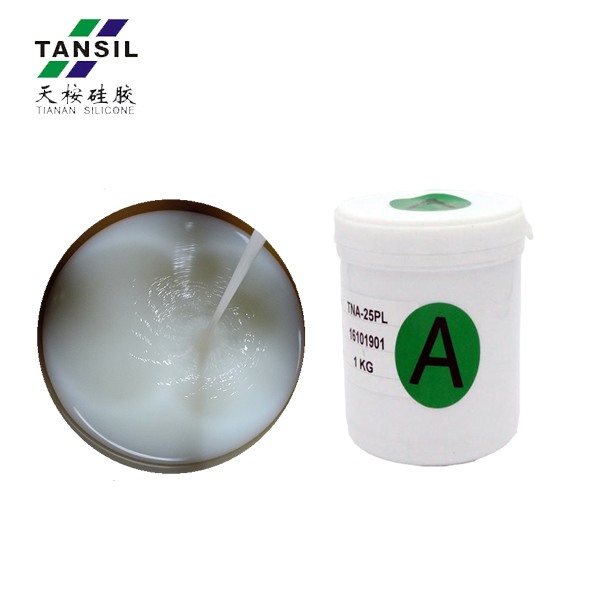 clear silicone rubber liquid