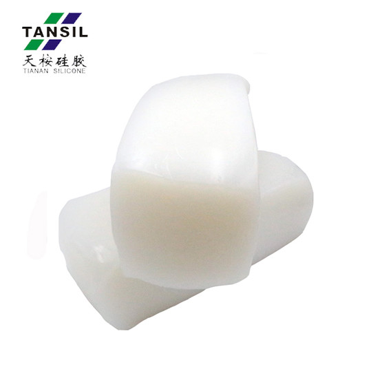 silicone rubber compound mix for heat-resistant strip