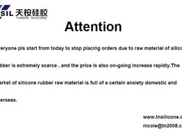 Price of Silicone Rubber Raw Material for Silicone Market