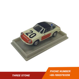 BREKINA 1/87 PORSCHE 911 Plastic Scale Model Car