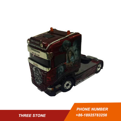 TEKNO 1/50 SCANLA WATER TRANSFORM DECAL DIECAST TRUCK MODEL