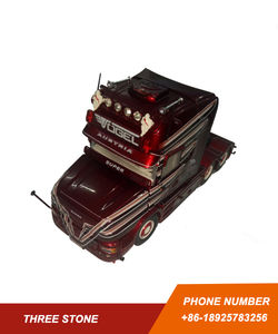 TEKNO 1/50 WATER TRANSFORM DECAL DIECAST MODEL