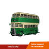 GL-07 diecast double decker bus models