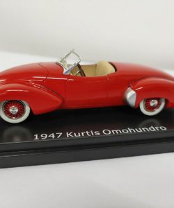 ESVAL 1/43 Kurtis Omohundro resin model car