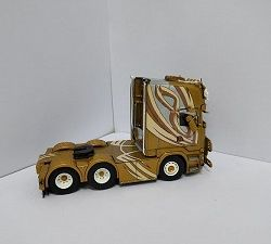 TEKNO TOMO DECAL DIECAST TRUCK MODEL