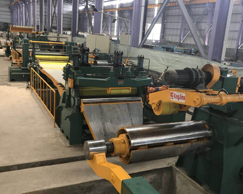 High speed steel coil slitting line