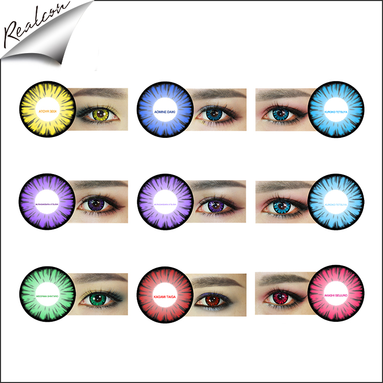color lenses for eyes