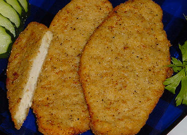 chicken steak (formed)