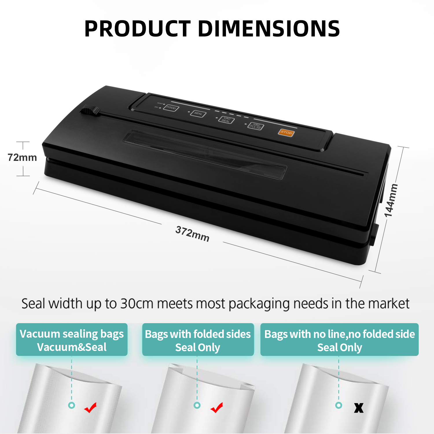 Food Meat Vacuum Sealer,VS2201
