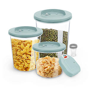 USB Charging Automatic Vacuum Food Grade Food Storage Container Set